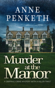 Murder at the Manor book cover
