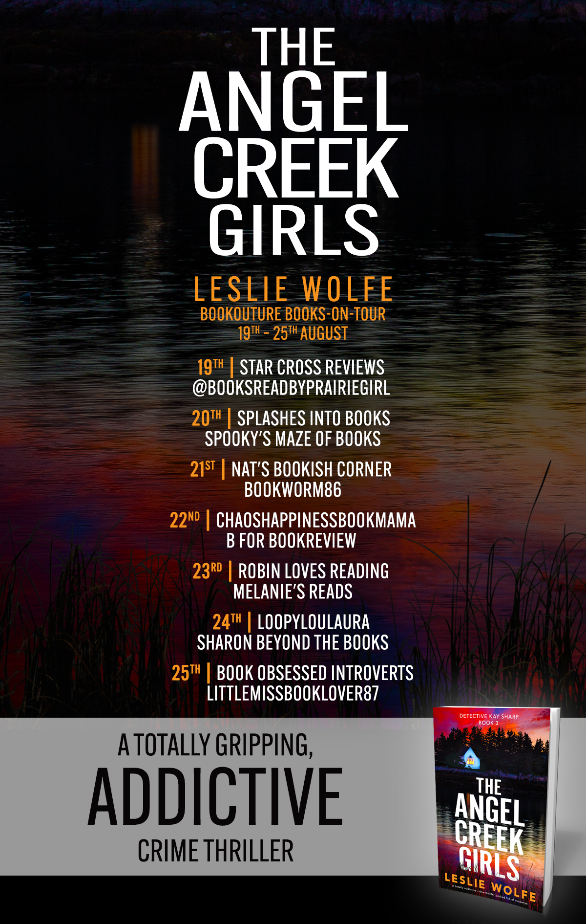 The Angel Creek Girls blog tour banner