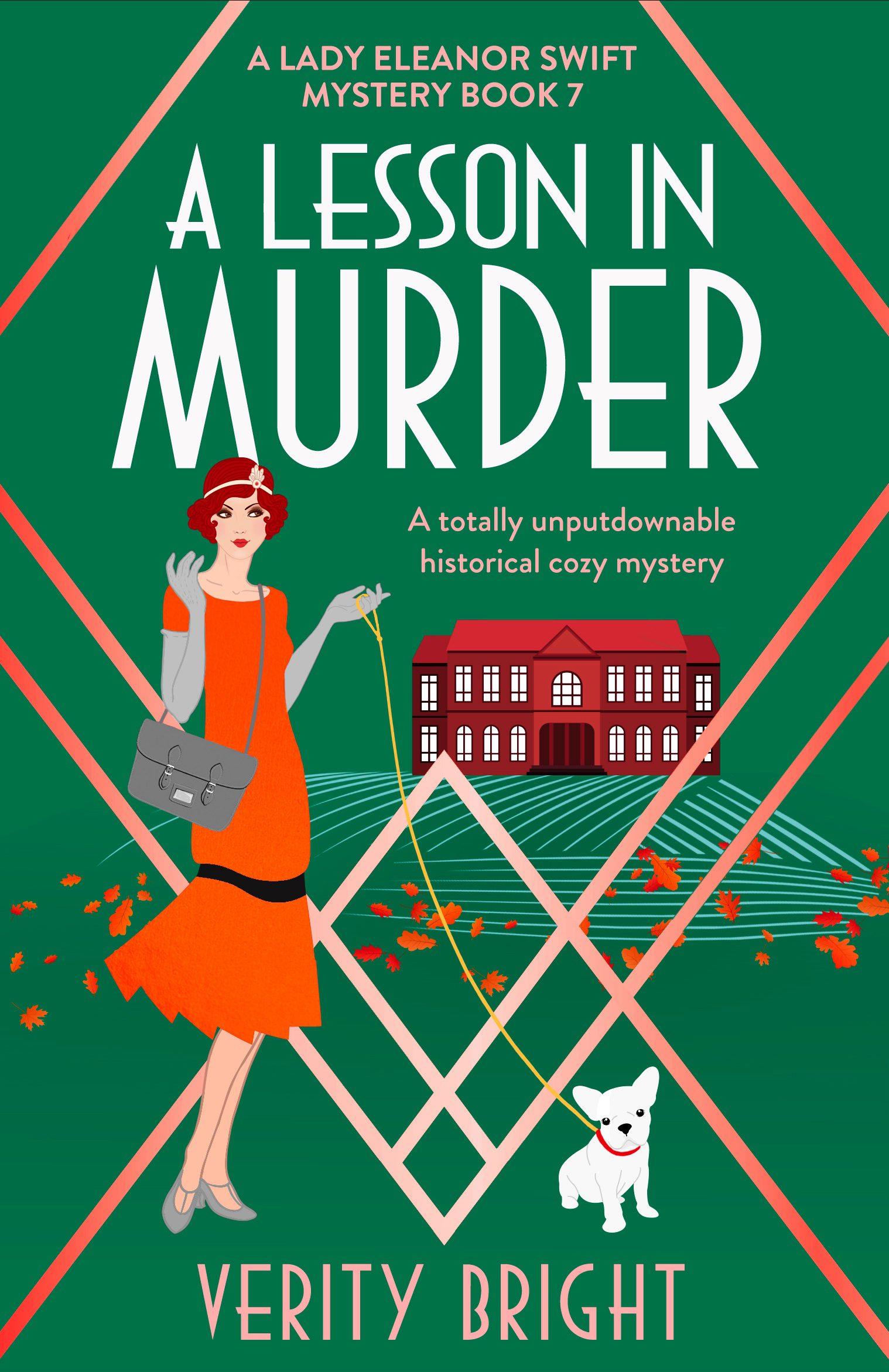 A Lesson In Murder book cover