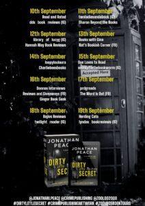 Dirty Little Secret blog tour banner