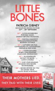 Little Bones blog tour banner
