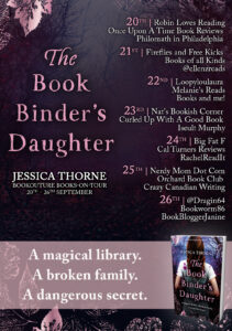 The Bookbinder's Daughter blog tour banner
