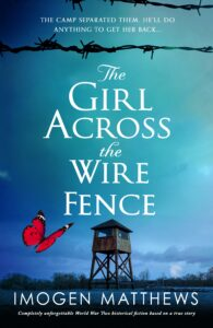 The Girl Across The Wire Fence book cover