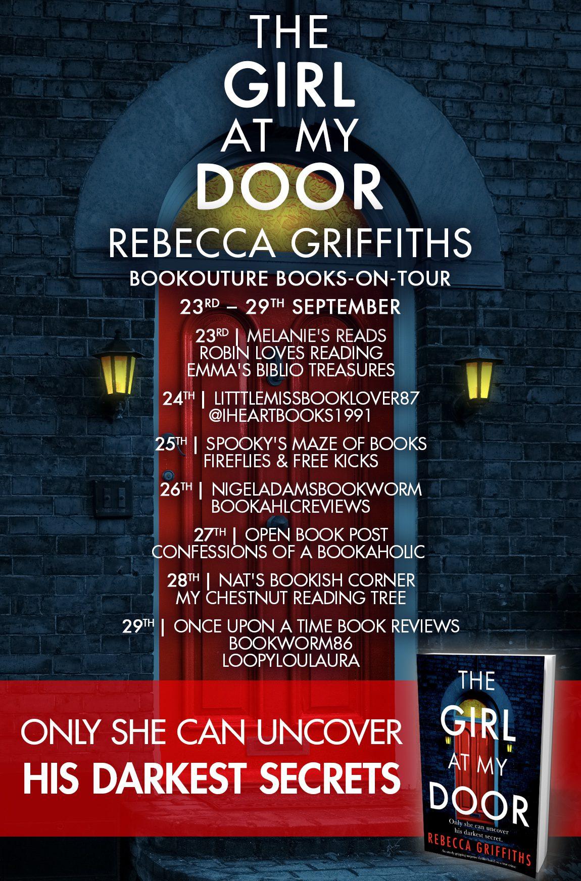 The Girl At My Door blog tour banner