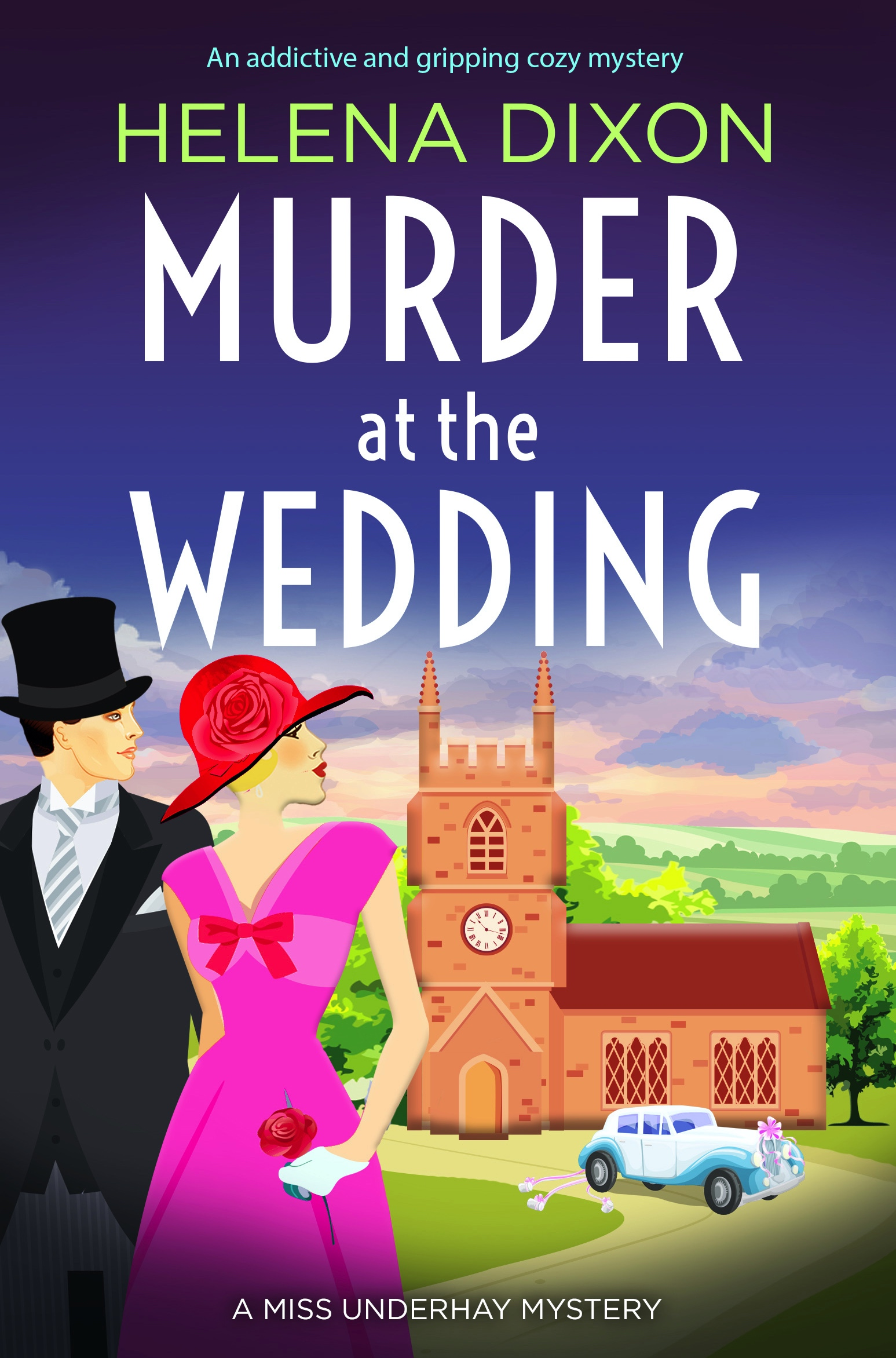 Murder at the Wedding book cover