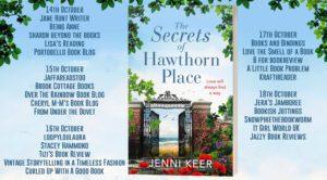 The Secrets of Hawthorn Place blog tour banner
