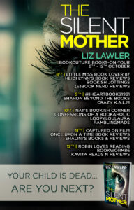 The Silent Mother blog tour banner